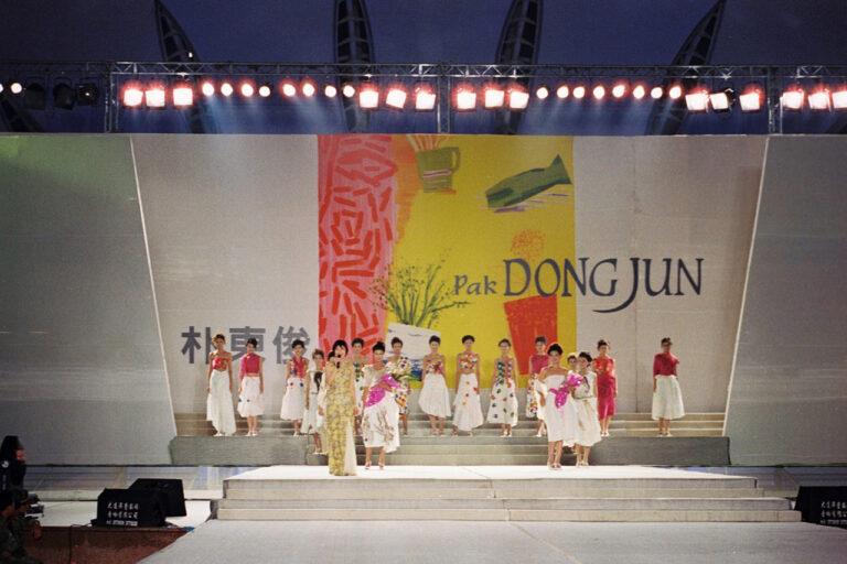 2003 중국다롄(大連) 국제복장제 초청 쇼
